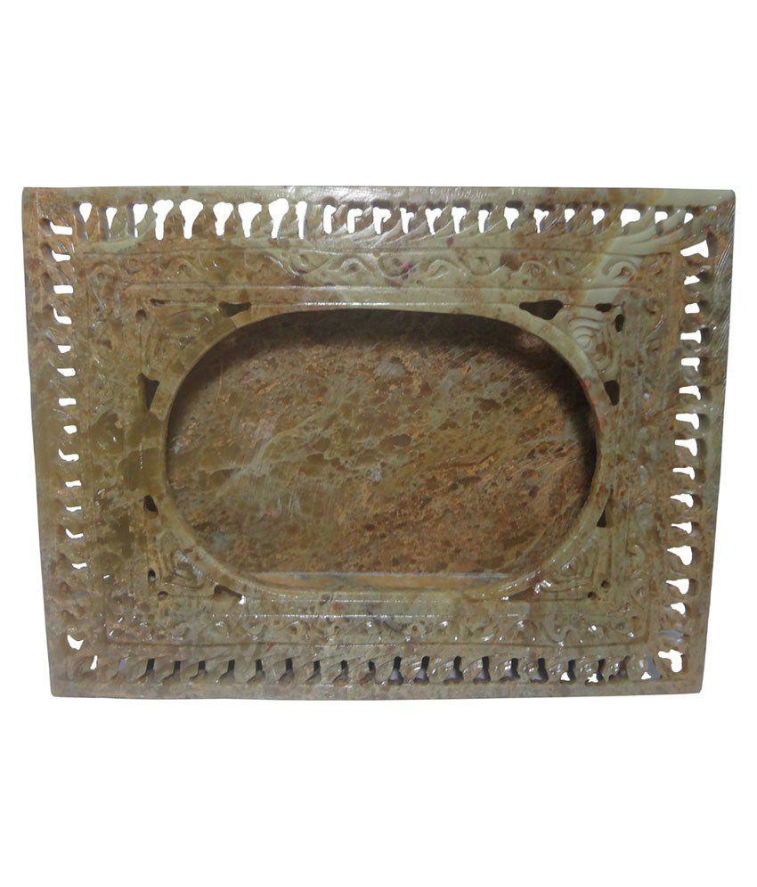 Avinash Handicrafts Textured Marble Photo Frame