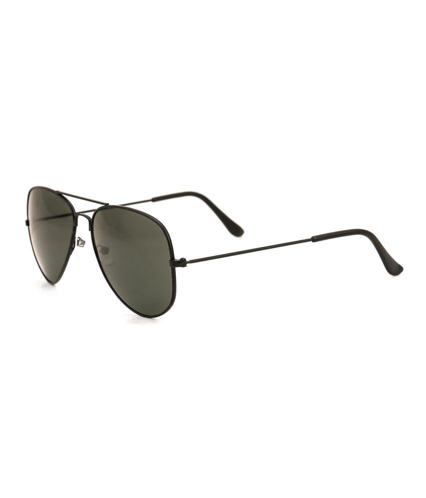 Royal Son Black Aviator Sunglasses
