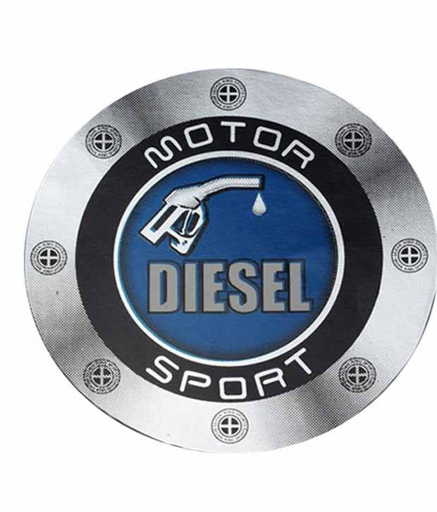 Takecare Multicolour Plastic Car Fuel Lid Vinyl Diesel Sticker For