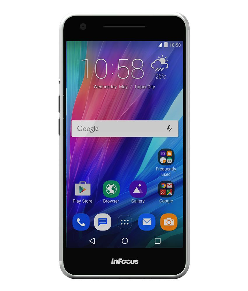 InFocus M812i Metal Unibody(16GB, Ice Silver)