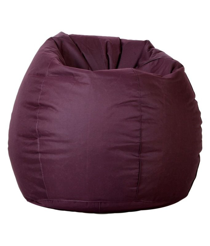 comfy xxl bean bag with beans in wine buy comfy xxl bean bag with rh snapdeal com