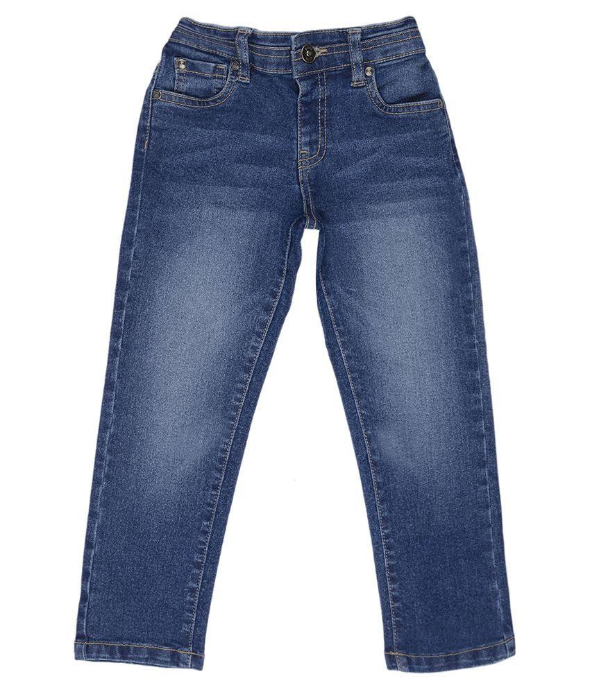 Nauti Nati Blue Regular Fit Jeans