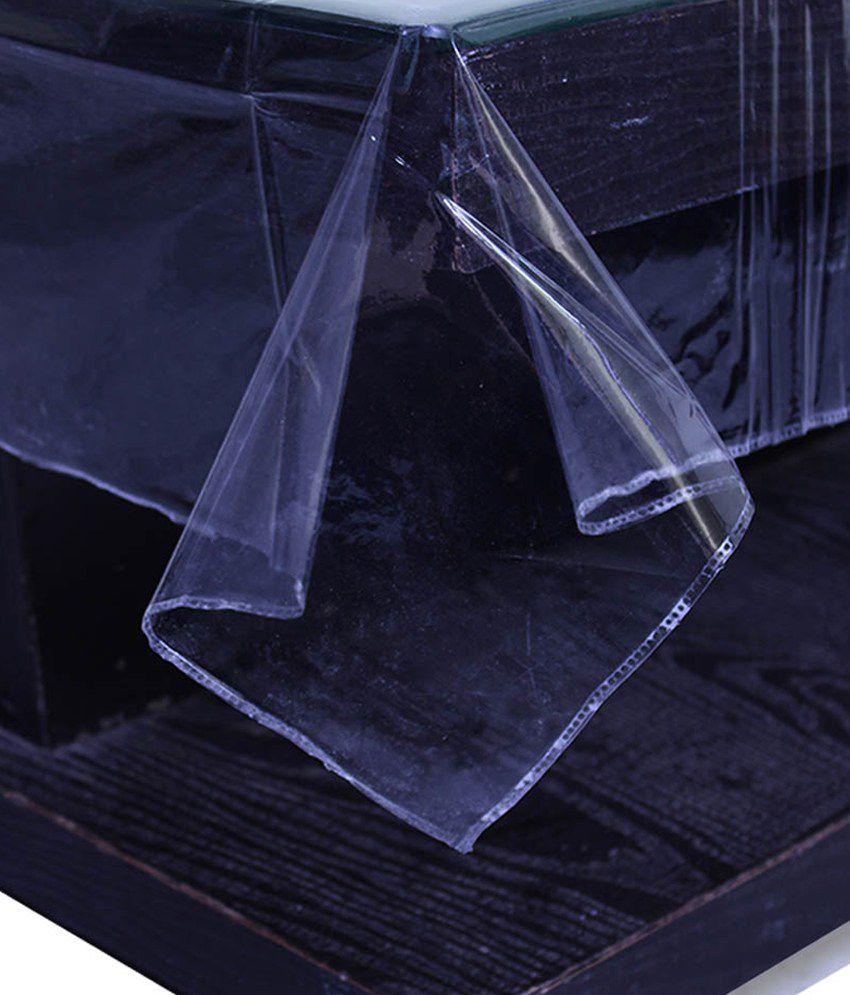 E-Retailer's Stylish Transparent  Center Table Cover