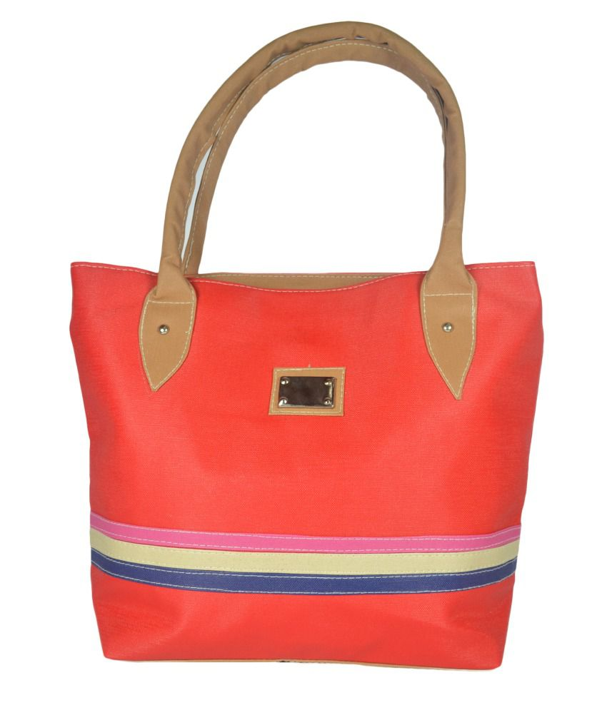 Lady Heart Red Tote Bag