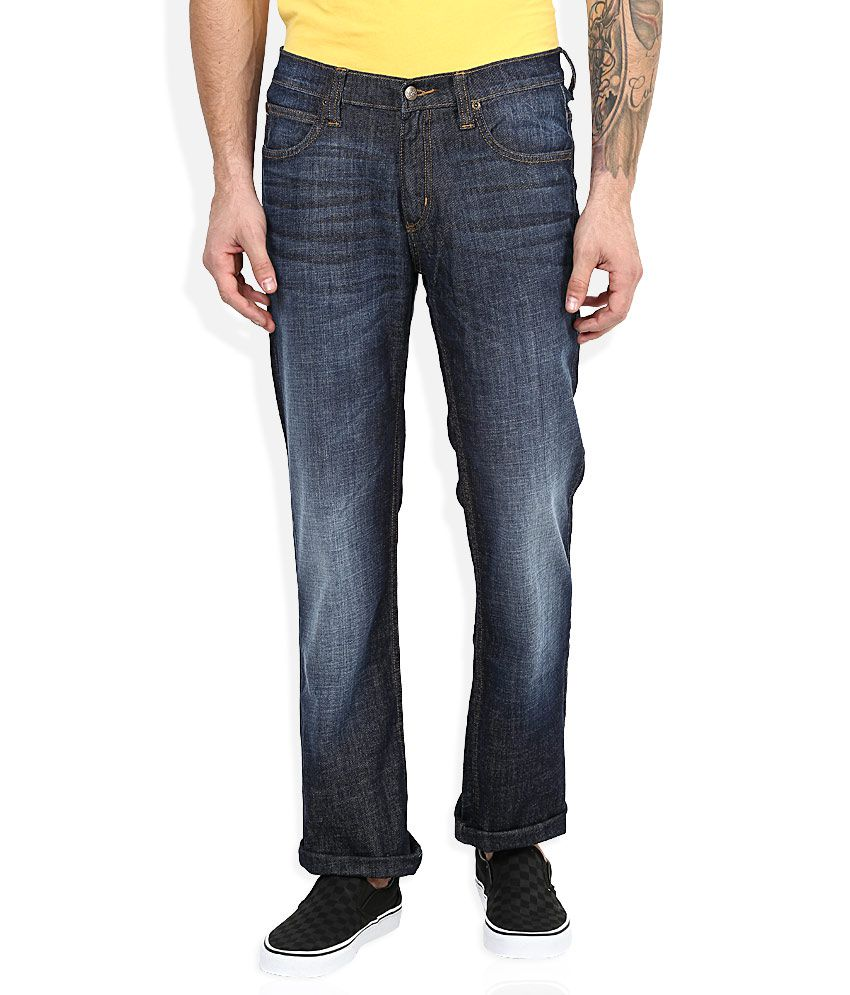 Lee Blue Regular Fit Jeans