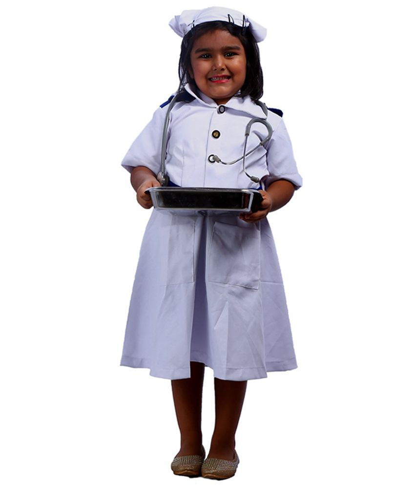 e4e4f06ba01 SBD Nurse Community Helper Fancy Dress Costume For Kids - Buy SBD ...