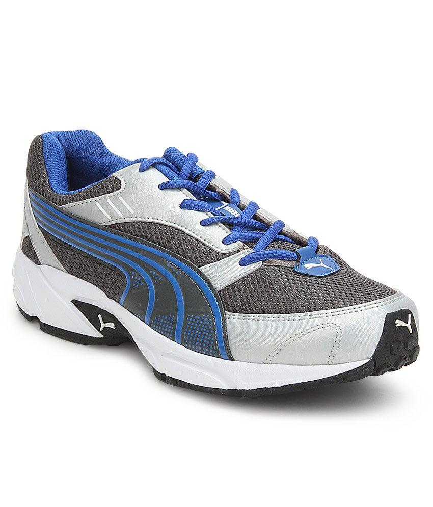 Puma Pluto DP Gray Sport Shoes