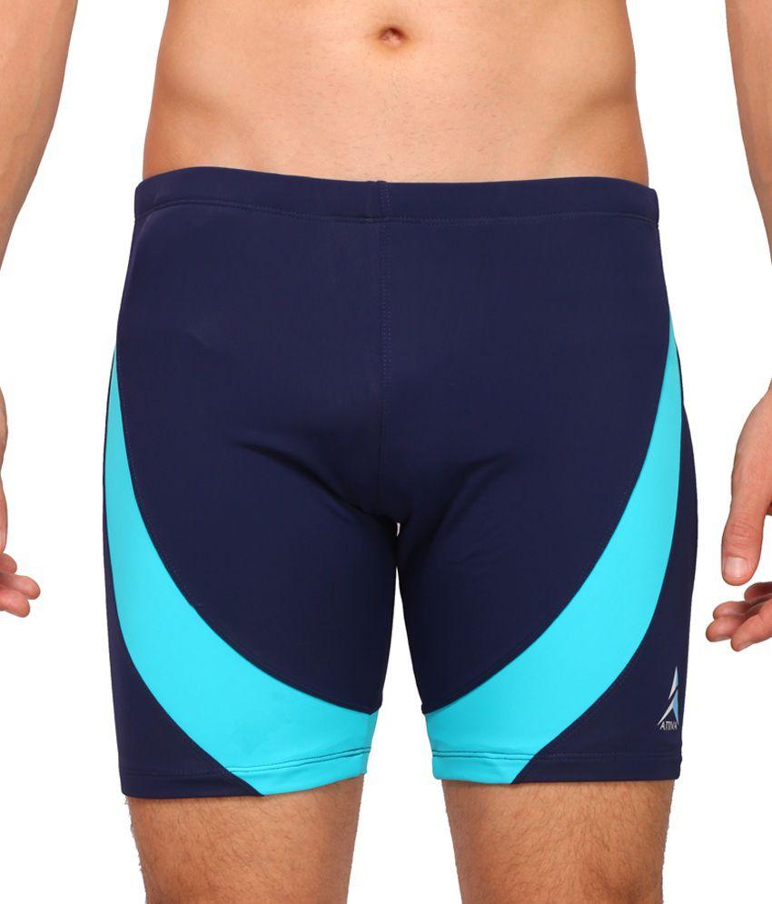 Attiva Navy Swimwear Shorts/ Swimming Costume