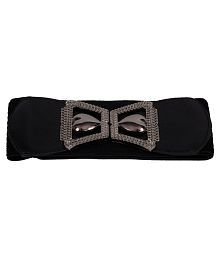 Victoria Secret Black Fabric Belt