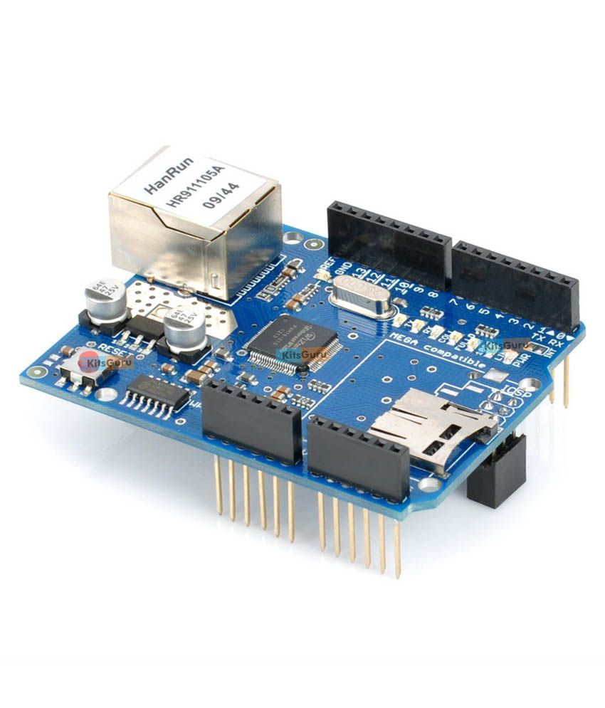 Arduino Ethernet Shield - Mouser Electronics