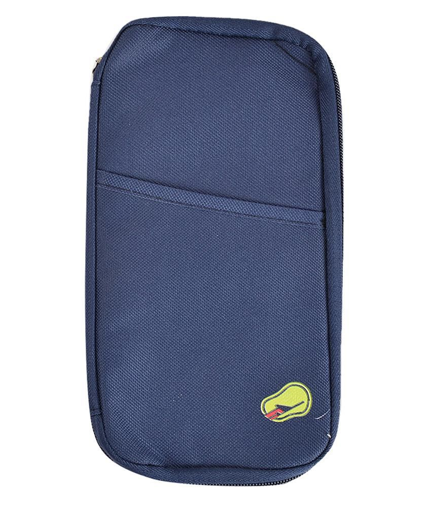 Melbon Passport Pouch/ Passport Wallet Cum Holder - Ferozi Blue  available at snapdeal for Rs.295