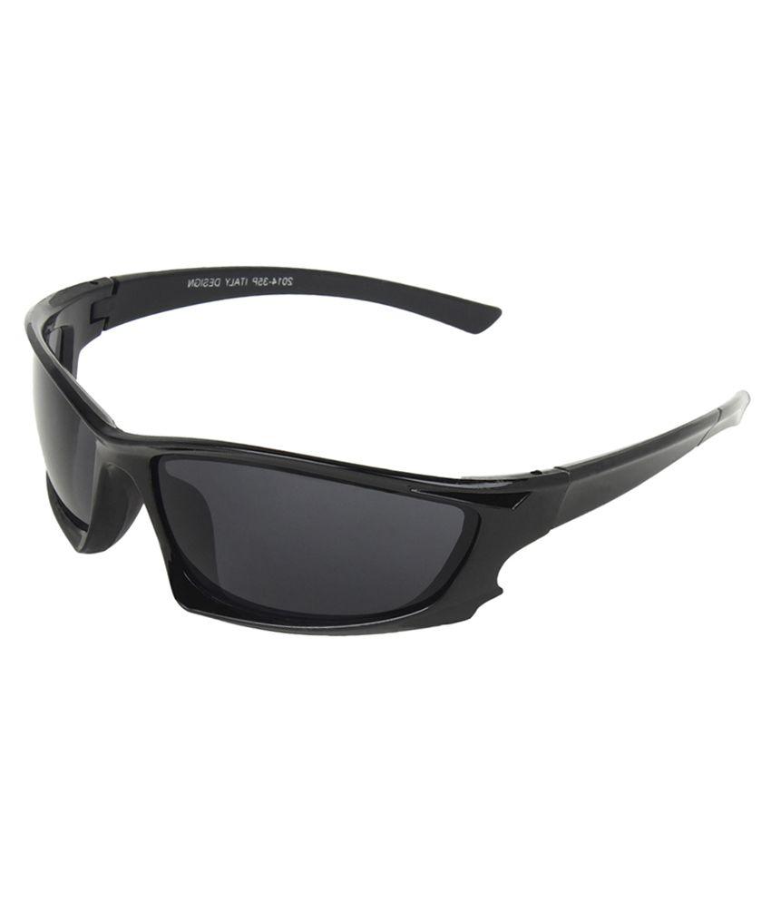 351a70d7cf Zyaden Black Sports Sunglasses - Buy Zyaden Black Sports Sunglasses Online  at Low Price - Snapdeal