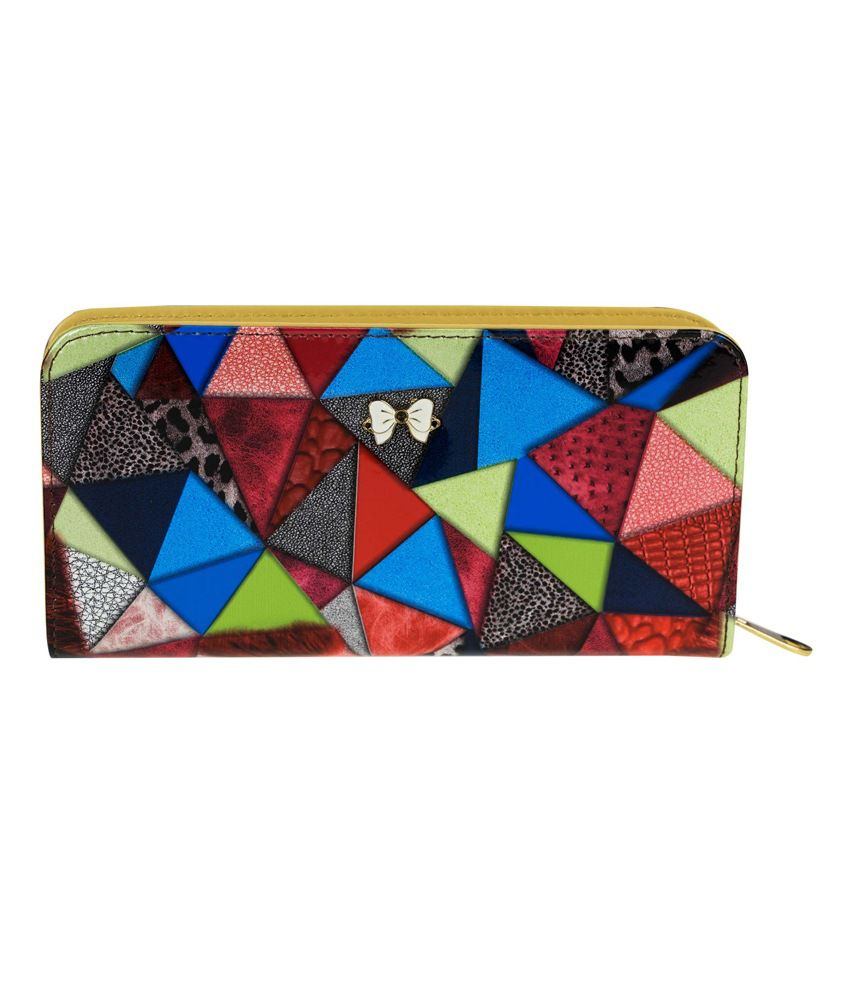 Genious Multicolour Formal Wallet