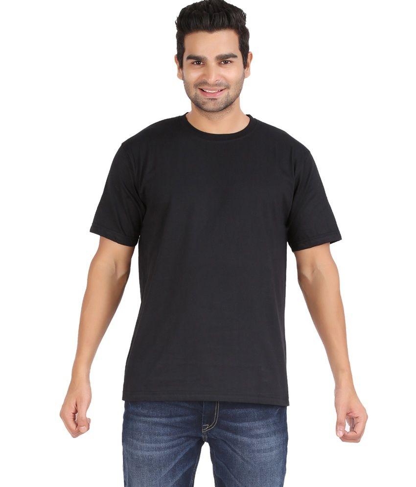 Glamorous Fashionwear Black Cotton T-shirt