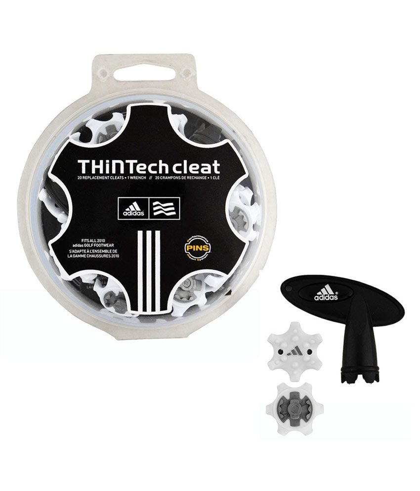 ca3cc1023 Adidas Thintech Golf Cleats   Spikes (pack Of 20)  Buy Online at Best Price  on Snapdeal
