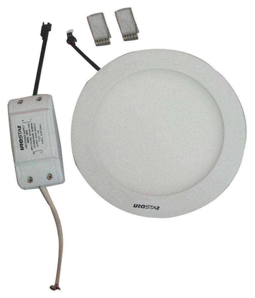 Ceiling Lamp Installation Cost: Urostar 12 Watt Ceiling Light- White: Buy Urostar 12 Watt