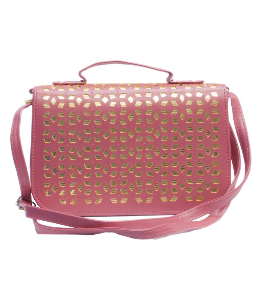 Voaka Pink Sling Bag