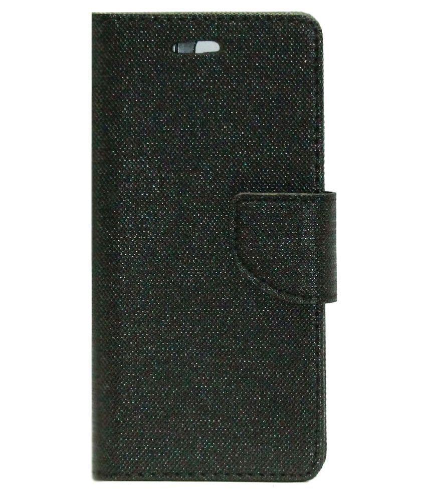 designer fashion 49a8c ed4d6 Gizmofreaks Flip Cover for Xolo Q1010i - Black