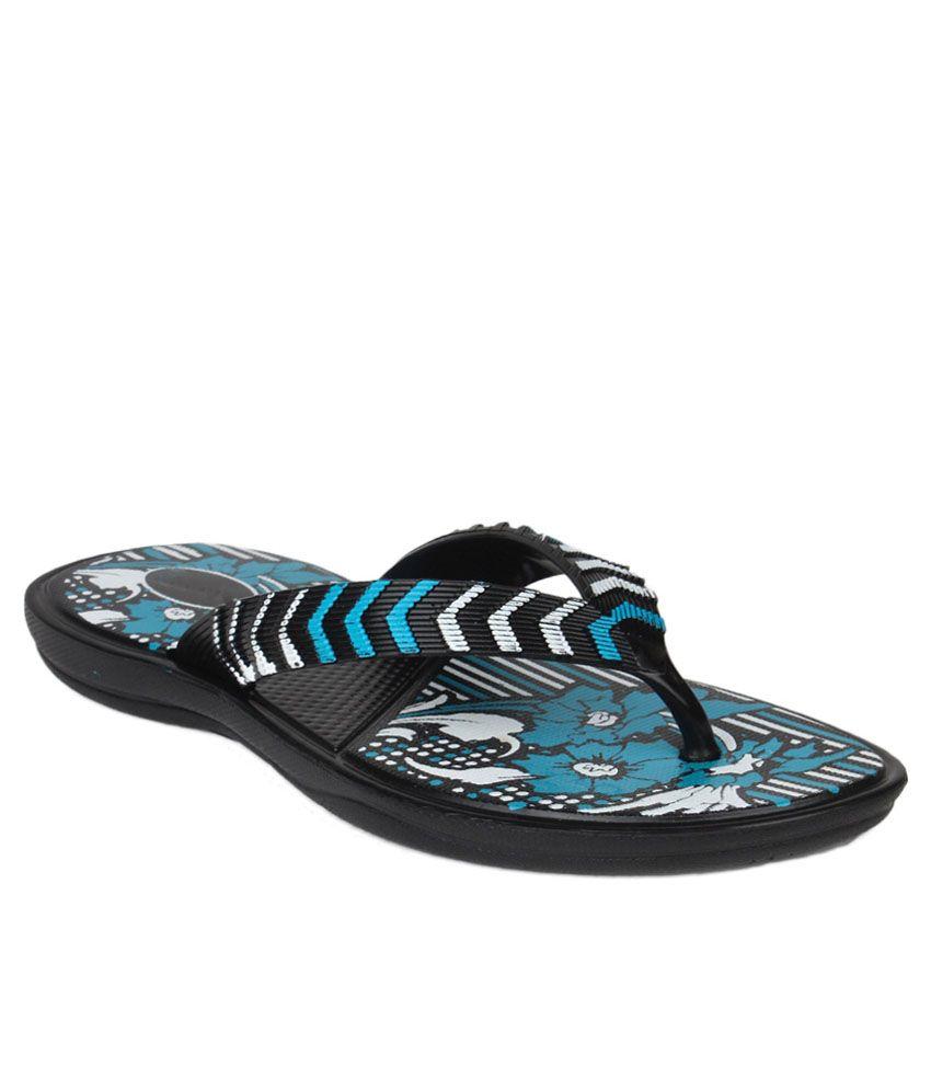 11e Blue Slippers