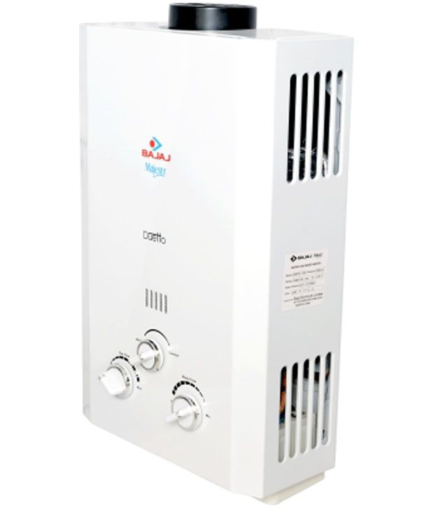 Bajaj 6 Ltr Majesty Duetto (PNG /LPG) Geyser White