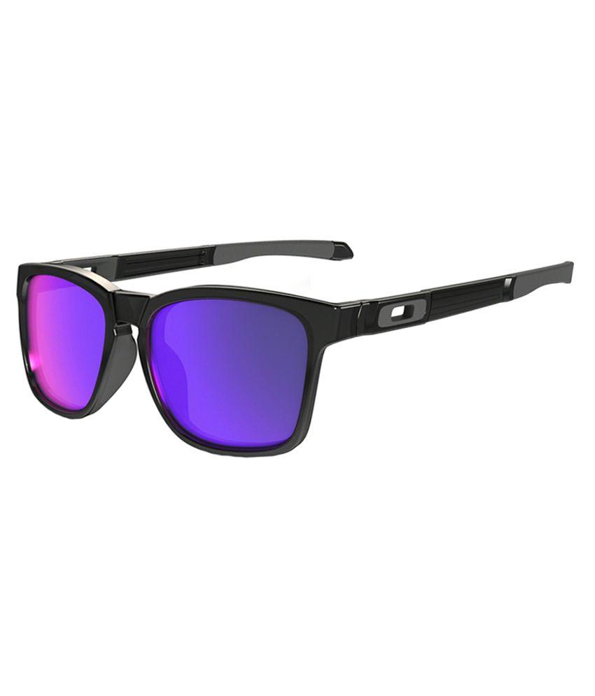 Oakley Black Wayfarer Non Metal Frame Sunglasses - Buy Oakley Black ...