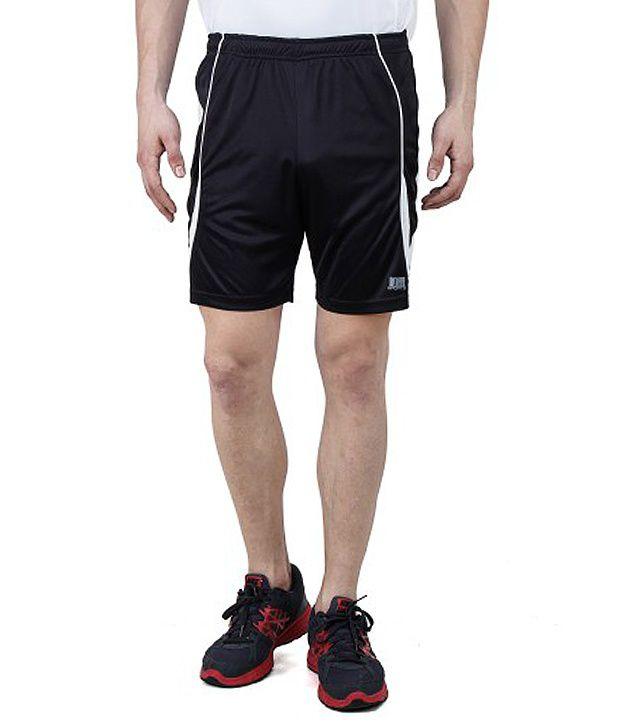 T10 Sports Black Elite Short