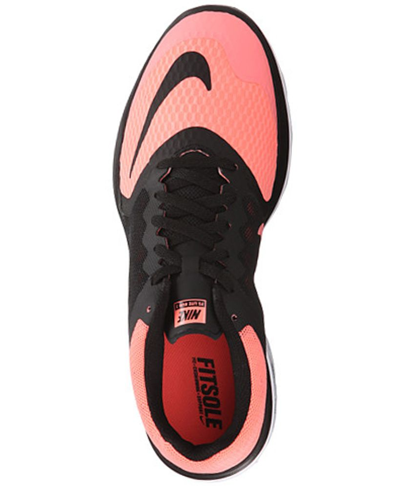 Nike Fs Lite Run 3 Gray Running Shoes Snapdeal