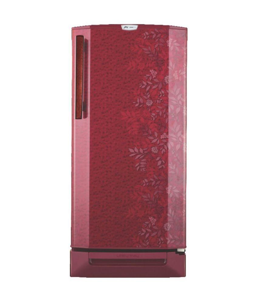 Godrej 190 LTR EDGE PRO 190 PDS 6.2 Direct Cool Refrigerator - Lush Wine