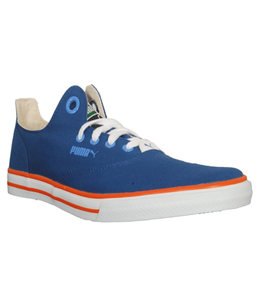 Puma Blue Canvas Shoes - Buy Puma Blue Canvas Shoes Online at Best Prices  in India on Snapdeal 8eea55164