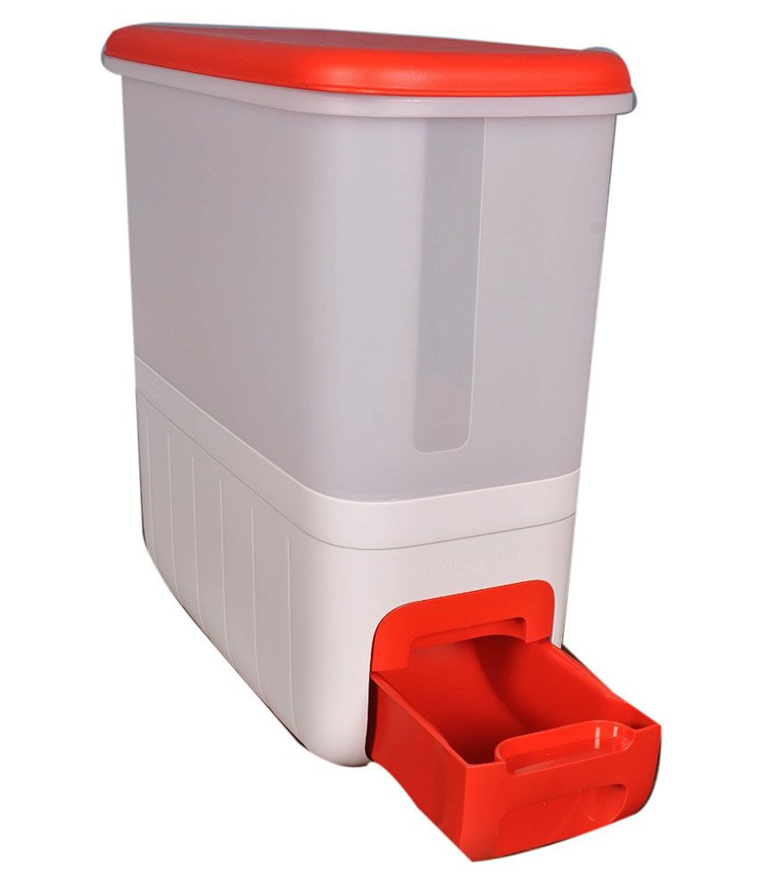 Buy or compare price tupperware orange red virgin for Case container 974