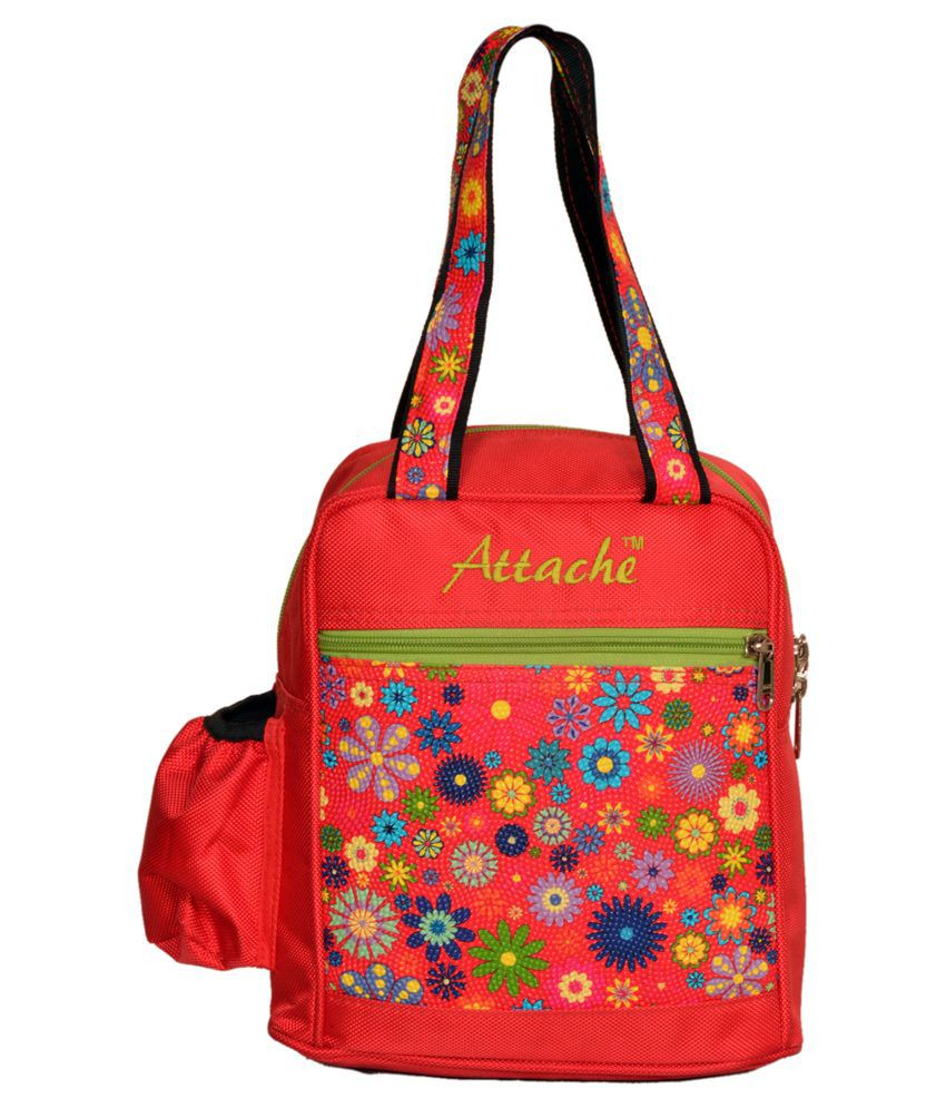 Attache Lunch Bag-Red