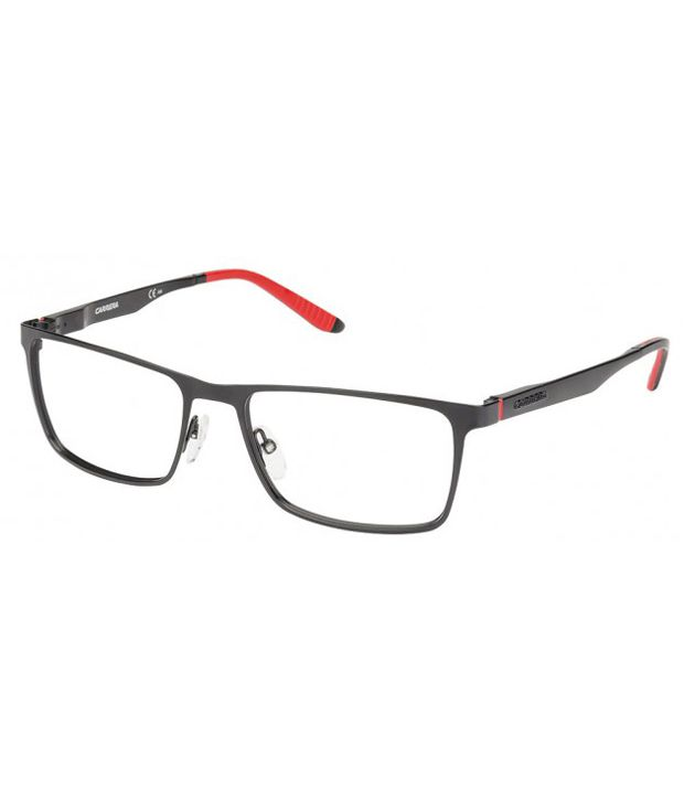 fd71991bf2 Carrera Black Rectangle Full Rim Spectacle Frame - Buy Carrera Black  Rectangle Full Rim Spectacle Frame Online at Low Price - Snapdeal