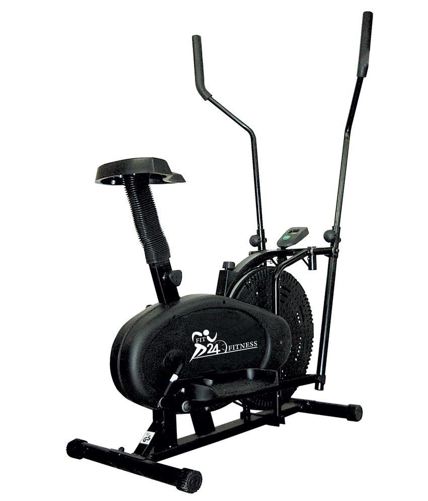Cybex Treadmill Svc Error 3: Fit24 Fitness Combo Of Motorized Treadmill T-509 With
