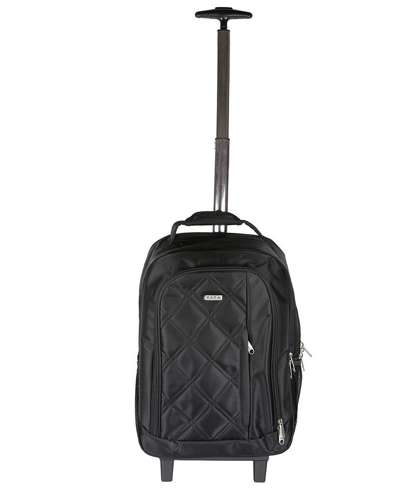 Kara Black Laptop Bag