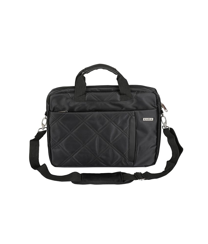 Kara Black Laptop Bag