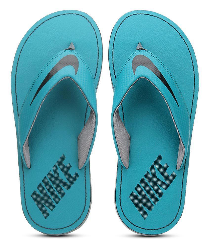 Nike Chroma Thong 4 Turquoise Flip Flops ...