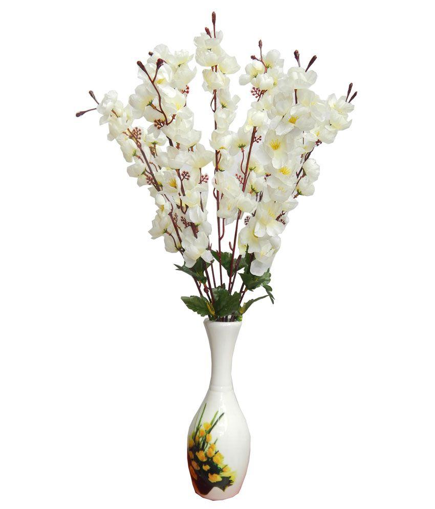 Best Flower Rose Artificial Flowers Bunch White Buy Best