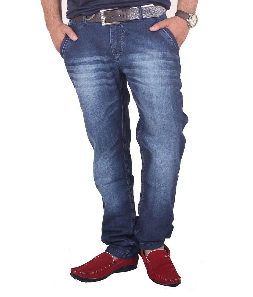 Kartstring Blue Slim Fit Jeans