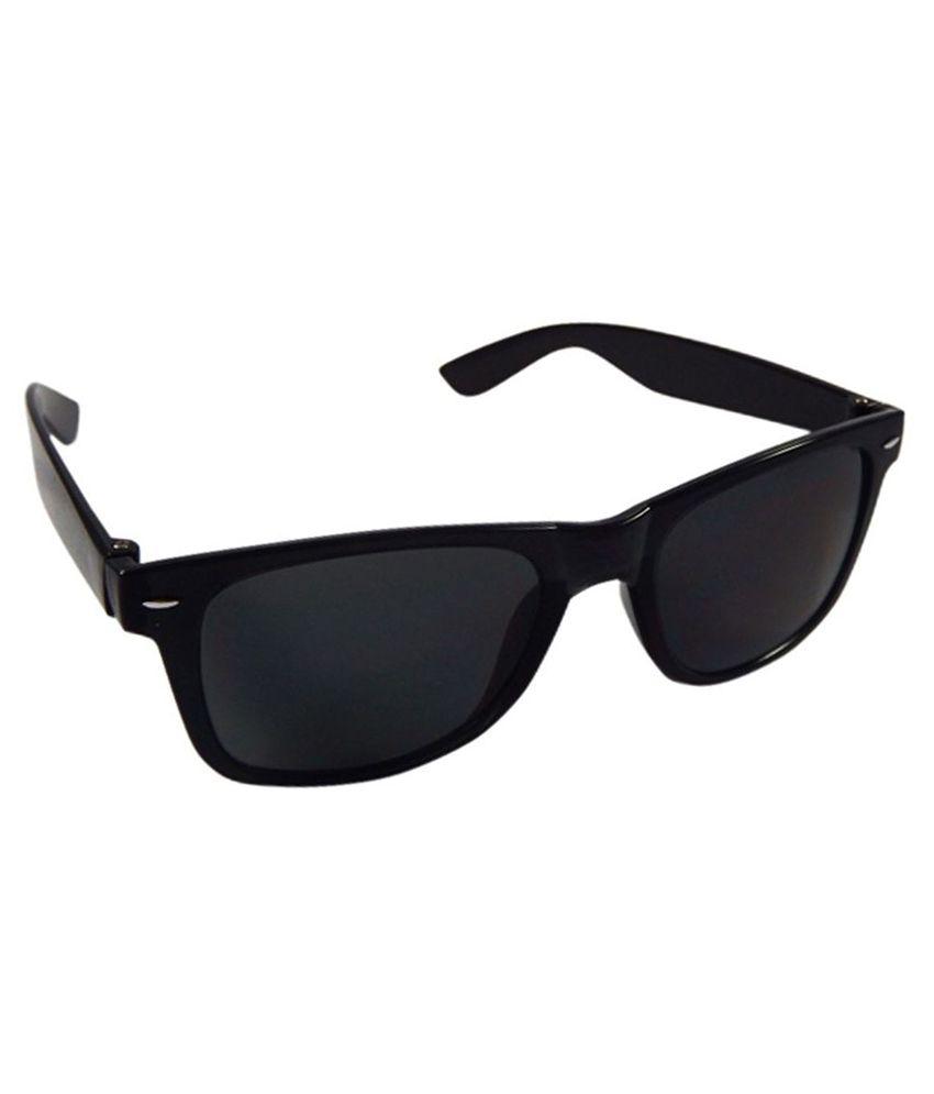 7baac07f00 Silver Black Classic Wayfarer Sunglasses Silver Black Classic Wayfarer  Sunglasses ...