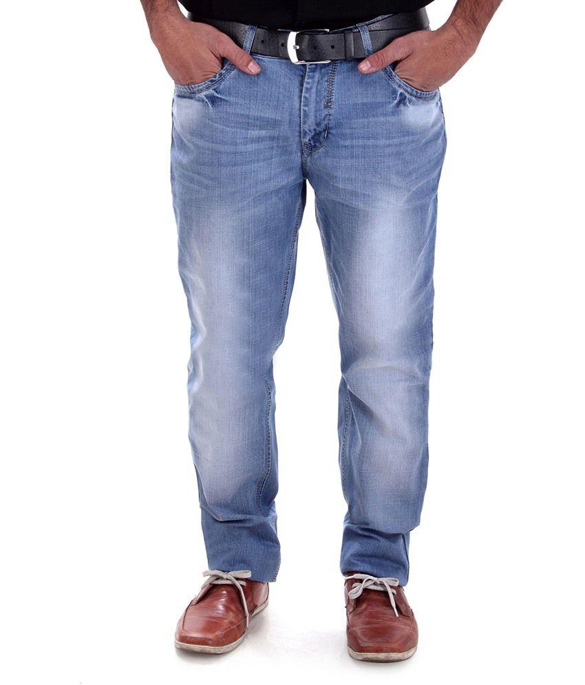Alfa Collection Blue Slim Fit Jeans