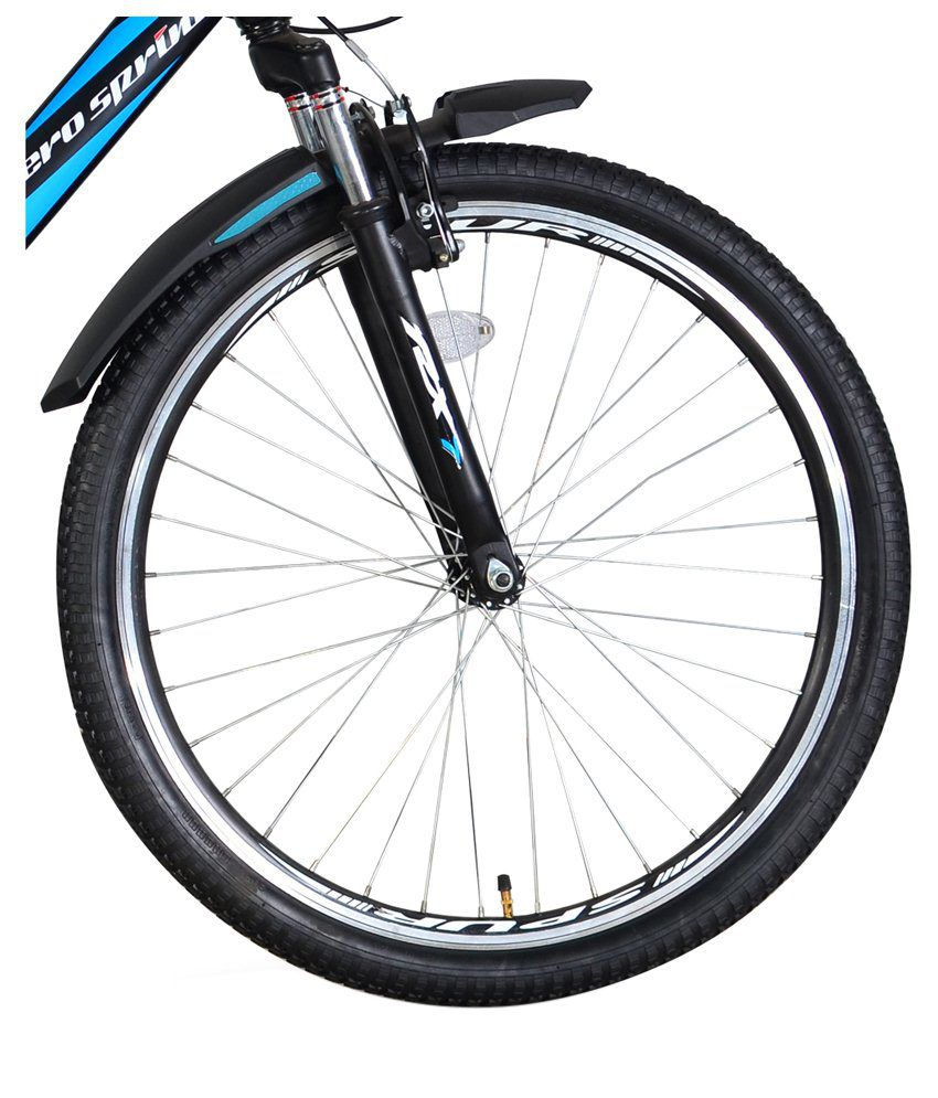 hero black blue adult cycle buy online at best price on snapdeal
