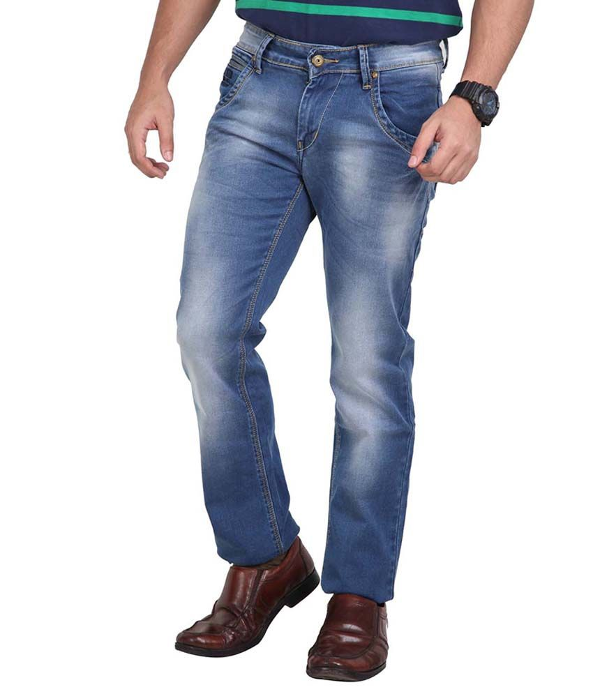 Hoffmen Blue Slim Fit Jeans