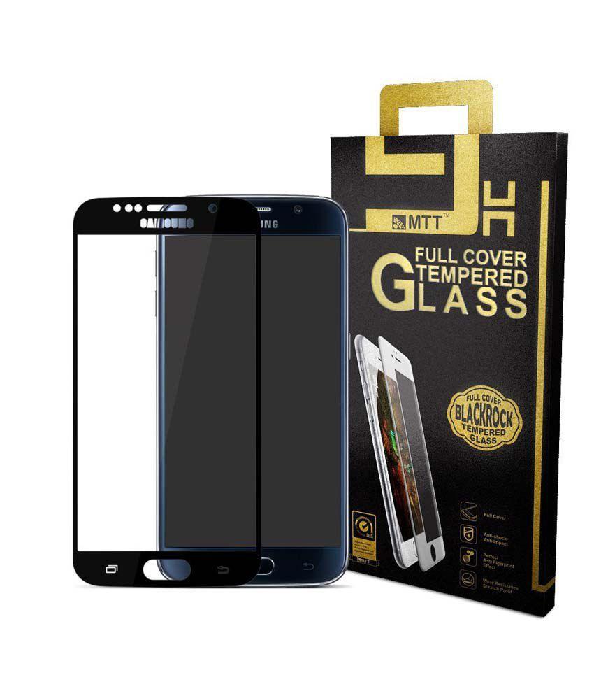 Samsung Galaxy S6 Tempered Glass Screen Guard by Mtt