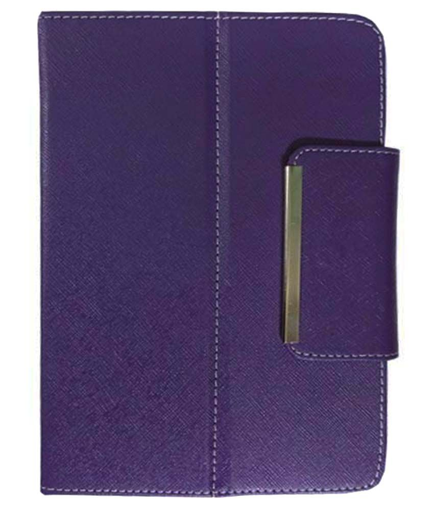 buy popular c3921 99fd8 VPS Flip Cover For Samsung Galaxy Tab 4 T331 Tablet-Purple