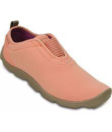 Crocs Orange Casual Shoes Standard Fit
