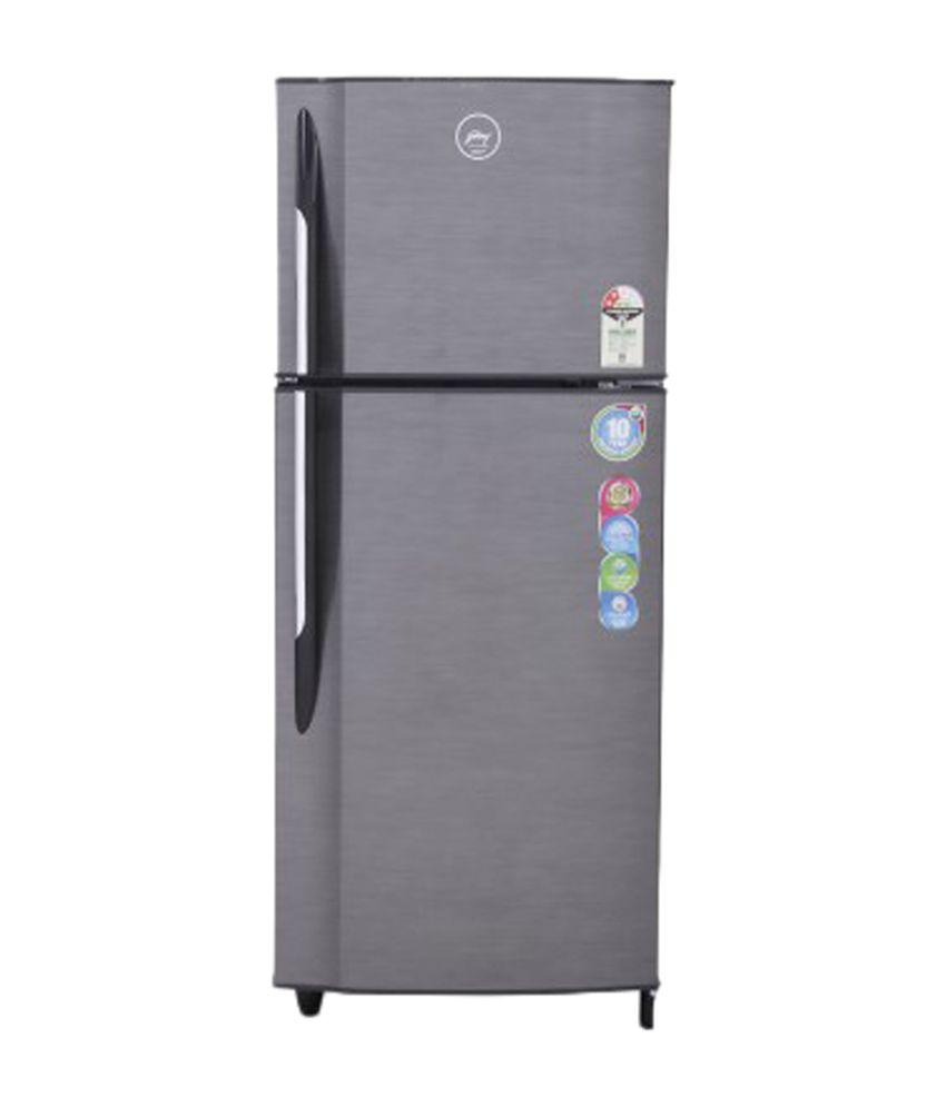 Godrej 240 Ltr. Frost Free RT EON 240 P 2.3 Double Door Refrigerator - Silver Stroke