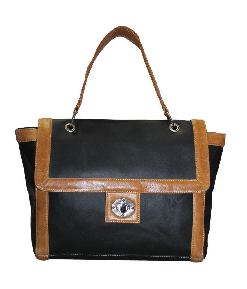 Moda Desire Black Shoulder Bag