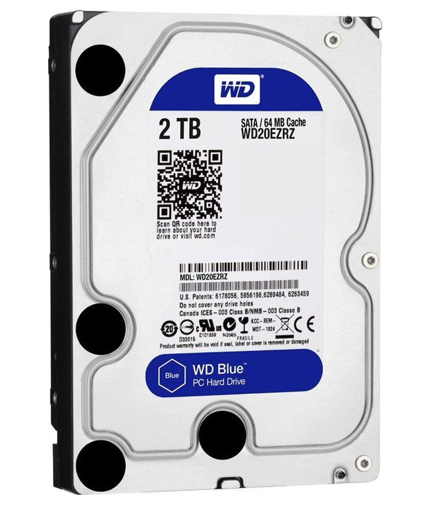 WD Wd20ezrz WD Blue 2 TB Internal Hard Drive