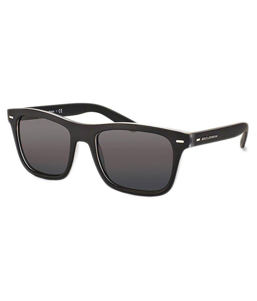 b20e5dc4b7 Dolce   Gabbana Black Frame Wayfarer Sunglasses - Buy Dolce   Gabbana Black  Frame Wayfarer Sunglasses Online at Low Price - Snapdeal