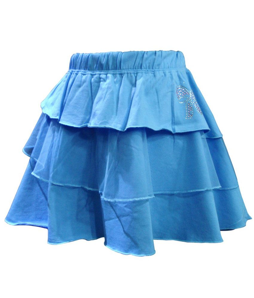 Kothari Blue Skirt For Girls